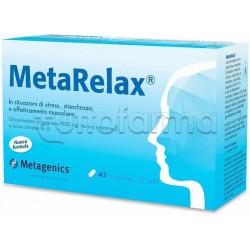 MetaRelax Integratore per Stress e Stanchezza 45 Compresse