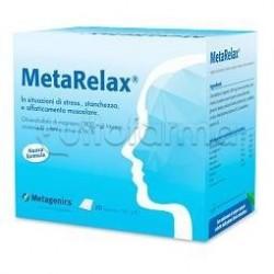 MetaRelax Integratore per Stress e Stanchezza 20 Bustine