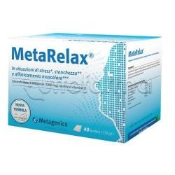 MetaRelax Integratore per Stress e Stanchezza 40 Bustine