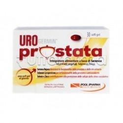 PoolPharma Urogermin Prostata Integratore per Prostata 15 Capsule Molli