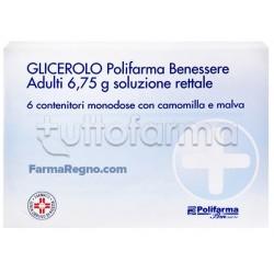 Polifarma Benessere Glicerolo Adulti 6 Microclismi