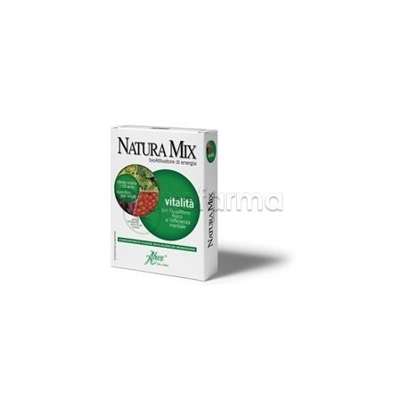 Aboca Natura Mix Vitalità Concentrato Fluido 10 Flaconcini