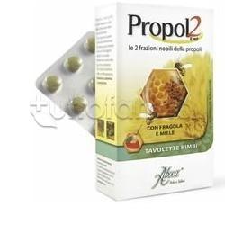 Propol2 Emf Tavolette Gola Bimbi Fragola e Miele 45 Tavolette