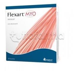 Flexart MYO per Benessere dei Muscoli 20 Bustine Agave