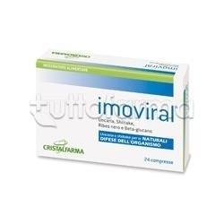 Cristalfarma Imoviral per Difese Immunitarie 24 Compresse