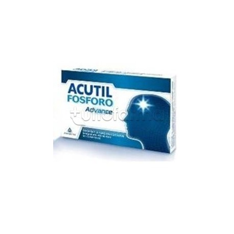 Acutil Fosforo Advance Integratore Concentrazione e Memoria 50 Compresse