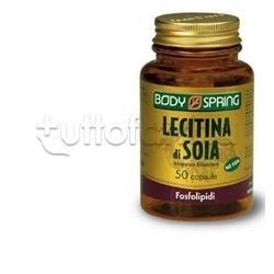 Body Spring Lecitina Di Soia Integratore Menopausa 100 Capsule