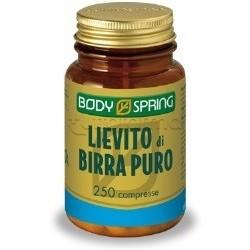 Body Spring Lievito Di Birra Integratore Alimentare 250 Capsule