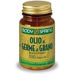 Body Spring Olio Di Germe Di Grano Integratore Antiradicale 100 Capsule