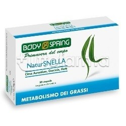 Body Spring NaturSnella Metabolismo dei Grassi 30 Capsule