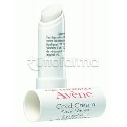 Avene Cold Cream Stick Labbra Idratante 4 Gr