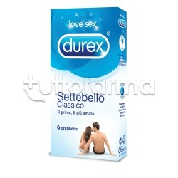 Durex Settebello 6 Profilattici Classici