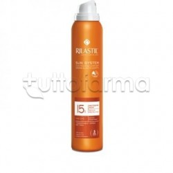 Rilastil Sun System Transparent Spray Wet Skin Protezione Solare 15 200ml