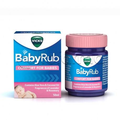 Vicks BabyRub Unguento per Bambini 50gr