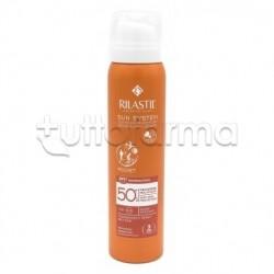 Rilastil Sun System Transparent Spray Pocket Wet Skin Protezione Solare 50+ 75ml