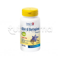 LongLife Olio Di Borragine Bio 1300mg 50 Perle