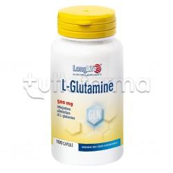 LongLife L-Glutamine 100 Capsule