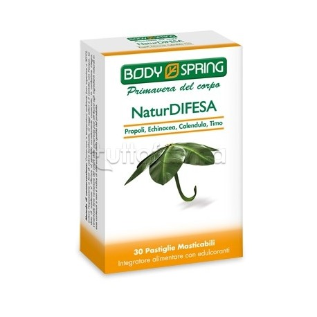 Body Spring Natur Difesa Integratore Sistema Immunitario 30 Pastiglie