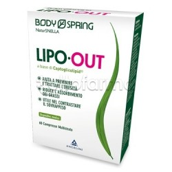 Body Spring NaturSnella Lipo Out Prevenzione Obesità 60 Compresse