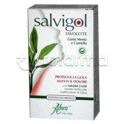 Aboca Salvigol Bio Menta / Cannella 30 Tavolette