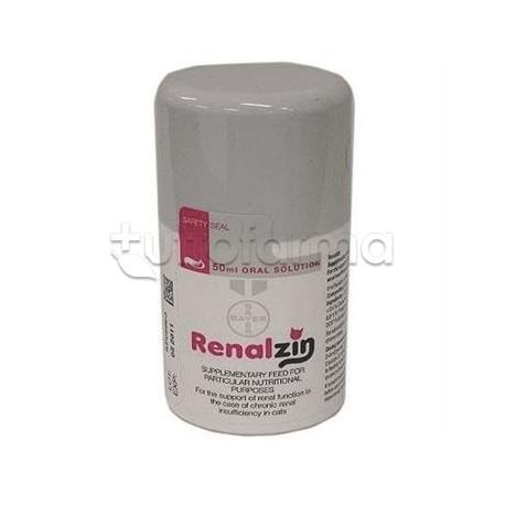 Bayer Renalzin Integratore Reni Gatti 50ml Tuttofarma
