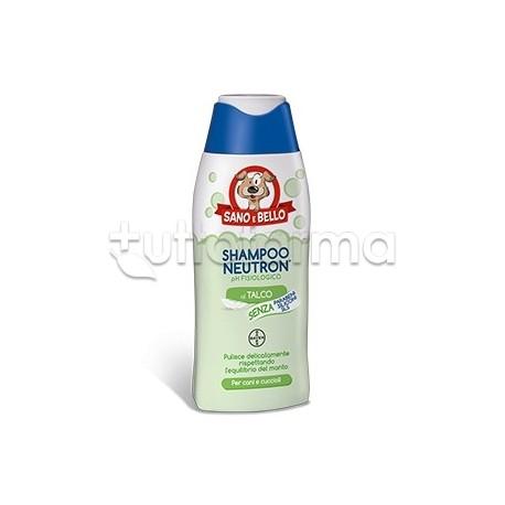 Bayer Shampoo Neutron Detergente Neutro Cani 250 Ml