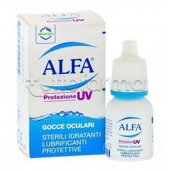 Alfa Protezione UV Gocce Oculari Idratanti Protettive 10 ml