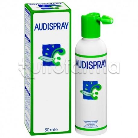 Audispray Adulti Fluidifica ed Elimina il Cerume 50 ml