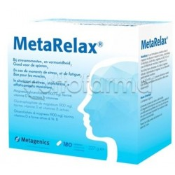 MetaRelax Integratore per Stress e Stanchezza 180 Compresse