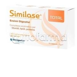 Metagenics Similase Total Enzimi Digestivi 15 Capsule