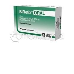 Biretix Oral Integratore alimentare 30 Capsule