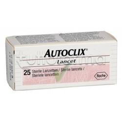 Autoclix Lancette Pungidito 25 Pz