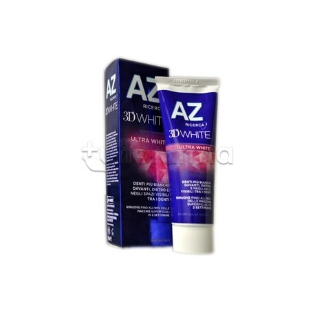 AZ 3D Ultra White Dentifricio Sbiancante 75 ml