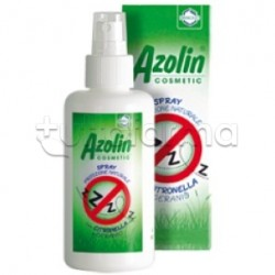 Azolin Cosmetic Spray Protezione Naturale Antizanzare 100 ml