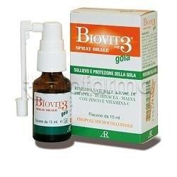 Biovit 3 Gola Spray Orale 15 ml