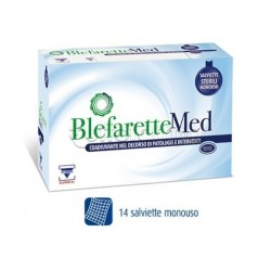 Blefarette Med Salviette Oculari Detergenti e Umettanti 14 Pezzi