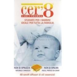 Cer'8 Zanzare Cerotti Repellenti Antizanzare Bambini 48 Cuscinetti
