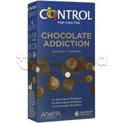 Control Profilattici Chocolate Addiction al Cioccolato 6 Pezzi