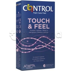 Control Profilattici Touch & Feel 6 Pezzi