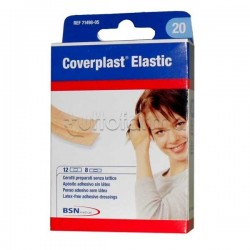 Coverplast Elastic Cerotti Conformabili 2 Formati Assortiti 20 Pezzi