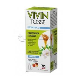 Vivin Tosse Pediatrico Sciroppo Naturale per Tosse Secca e Grassa 150ml