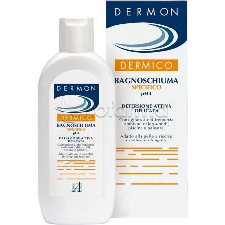 Dermon Dermico Bagnoschiuma Detergente PH 4 250 ml