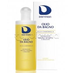 Dermon Olio Bagno alla Camomilla Delicato Lenitivo 200 ml