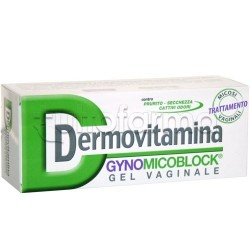 Dermovitamina GynoMicoBlock Crema Antimicotica Vaginale 30 Ml