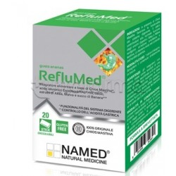 Named RefluMed Integratore per Acidità di Stomaco 20 Stick Orosolubili