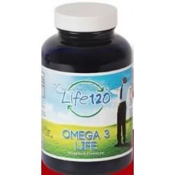 Life120 Omega3 Life Integratore con Acidi Grassi Omega3 150 Perle