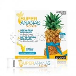 Super Ananas Slim Integratore drenante e dimagrante 25 Bustine da 10 ml