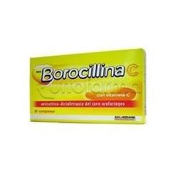 Neoborocillina C 20 Pastiglie 1,2 + 70 mg per Mal di Gola