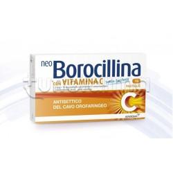 Neoborocillina C 16 Pastiglie Senza Zucchero per Mal di Gola