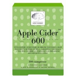 New Nordic Apple Cider 600 Integratore Drenante 100 Compresse